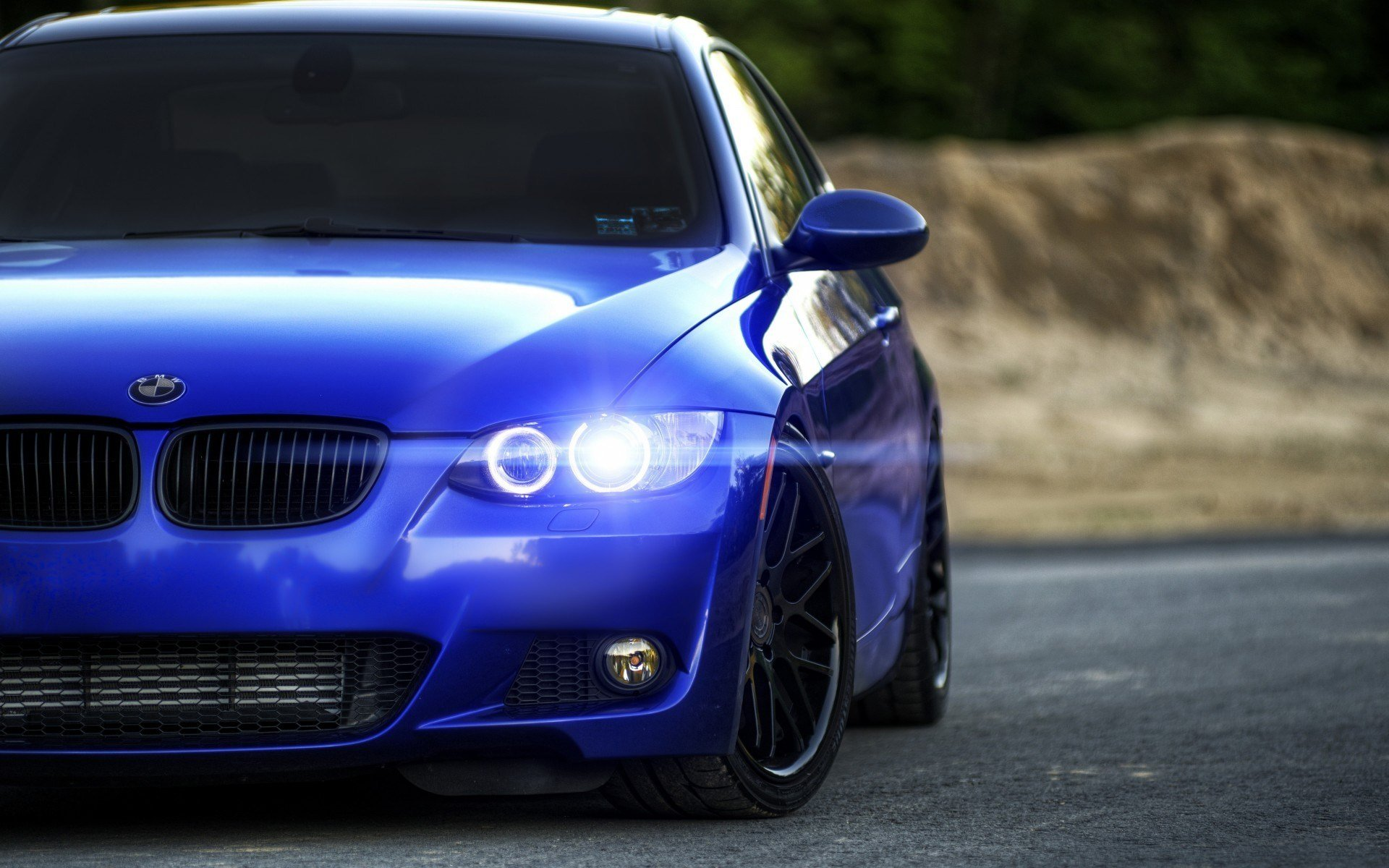 New Car Bmw Rims Blurred Blue Cars Wallpapers Hd Desktop On This Month