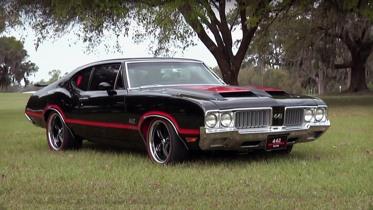 New Seriously Cool 1970 Oldsmobile Cutlass 442 W 30 On This Month