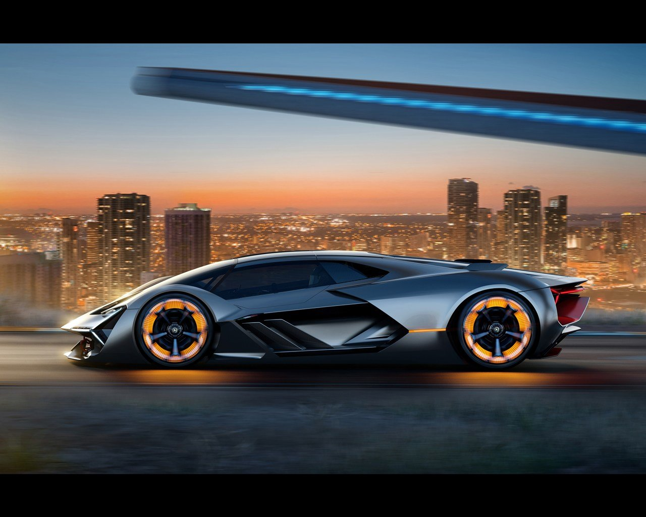 New Lamborghini Terzo Millennio Electric Research Project 2017 On This Month
