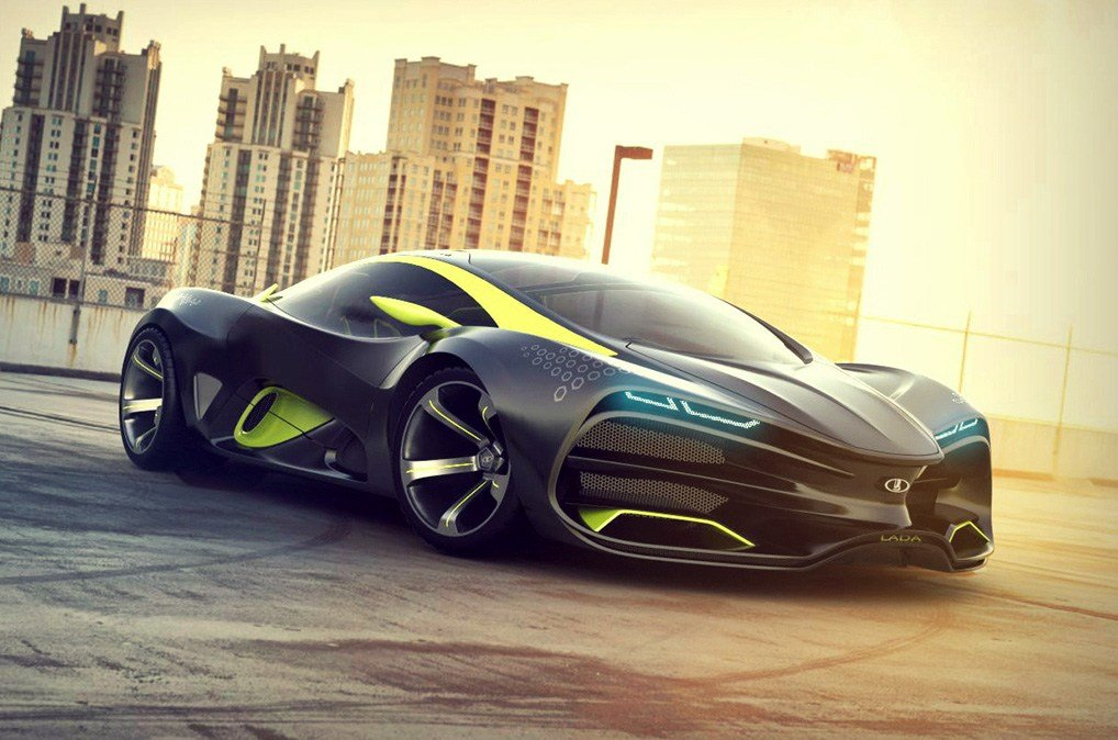 New Lada Raven Concept The New Russian Supercar Forcegt Com On This Month