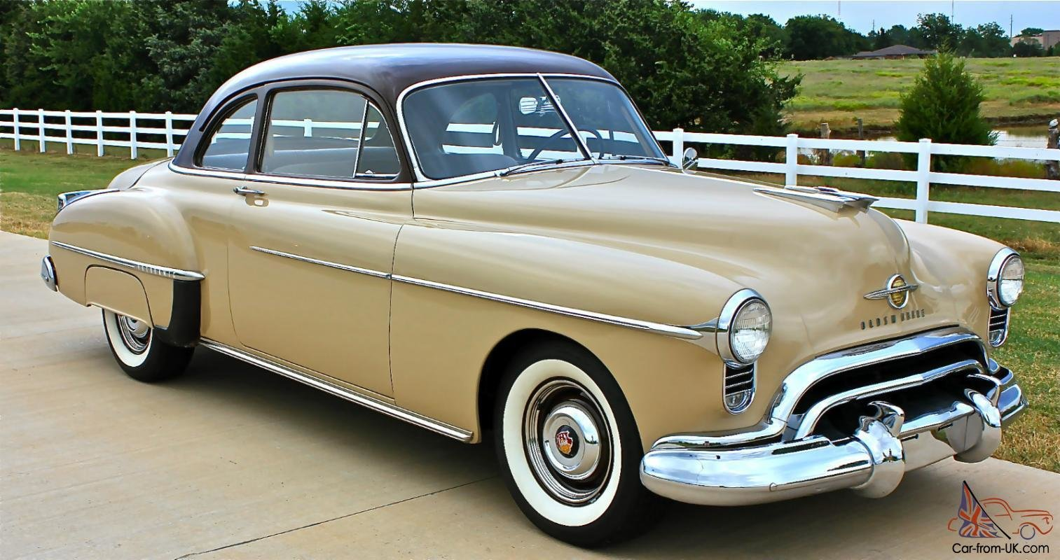 New 1950 Oldmobile Rocket 88 2 Door Club Coupe On This Month