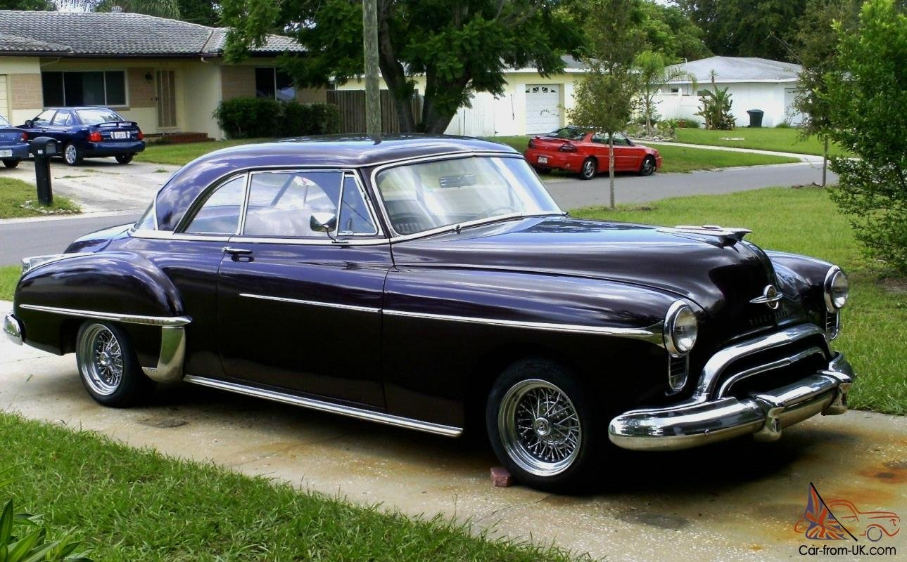 New 1950 Oldsmobile Holiday Tribute Car Project Street Rod On This Month