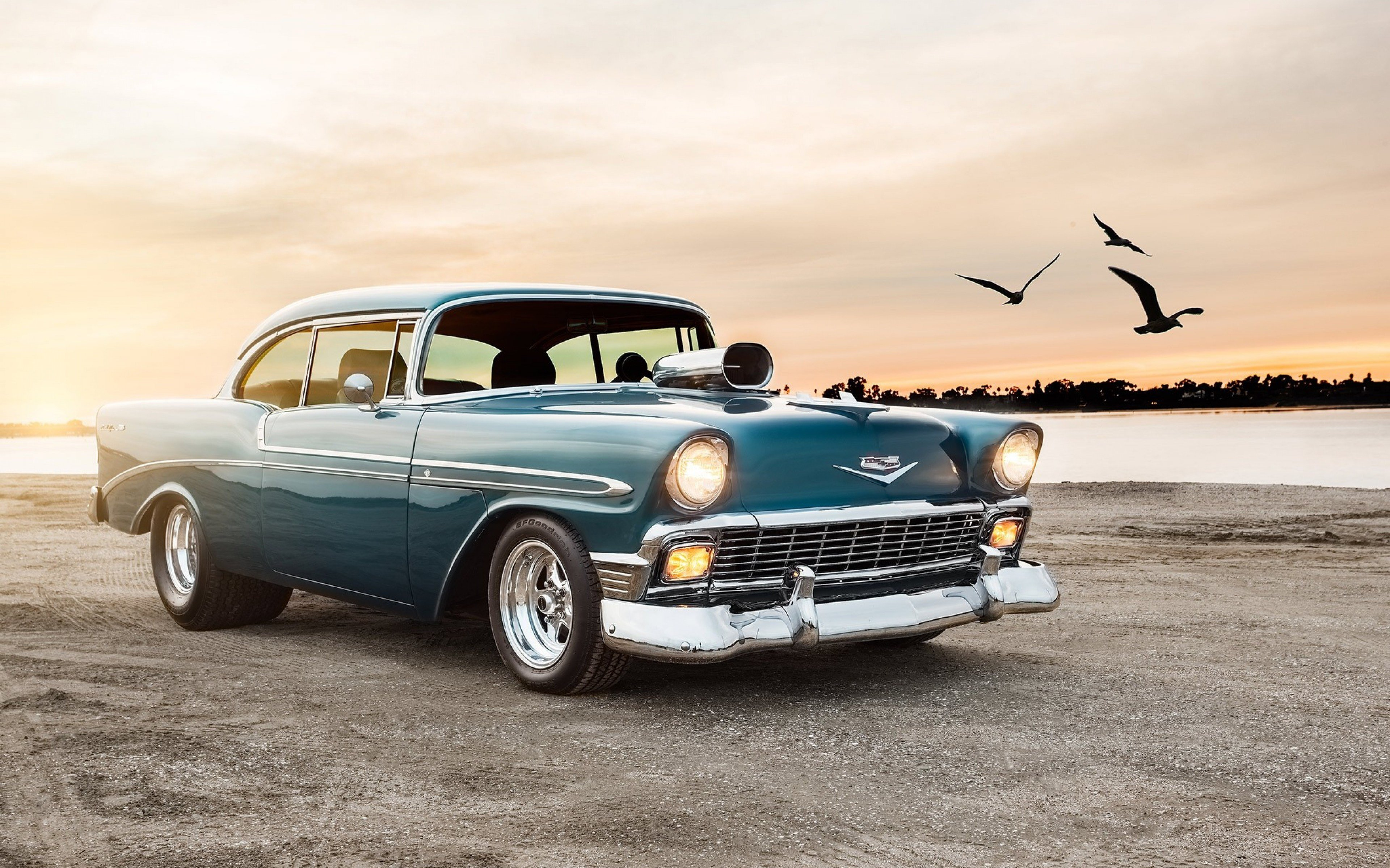 New Chevrolet Bel Air Sport Coupe Hd Cars 4K Wallpapers On This Month