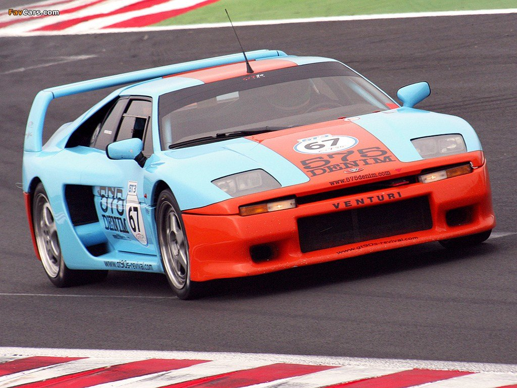 New Venturi 400 Gt Wallpapers 1024X768 On This Month