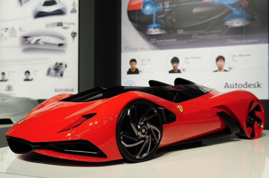 New Ferrari's Car Of The Future Autocar On This Month
