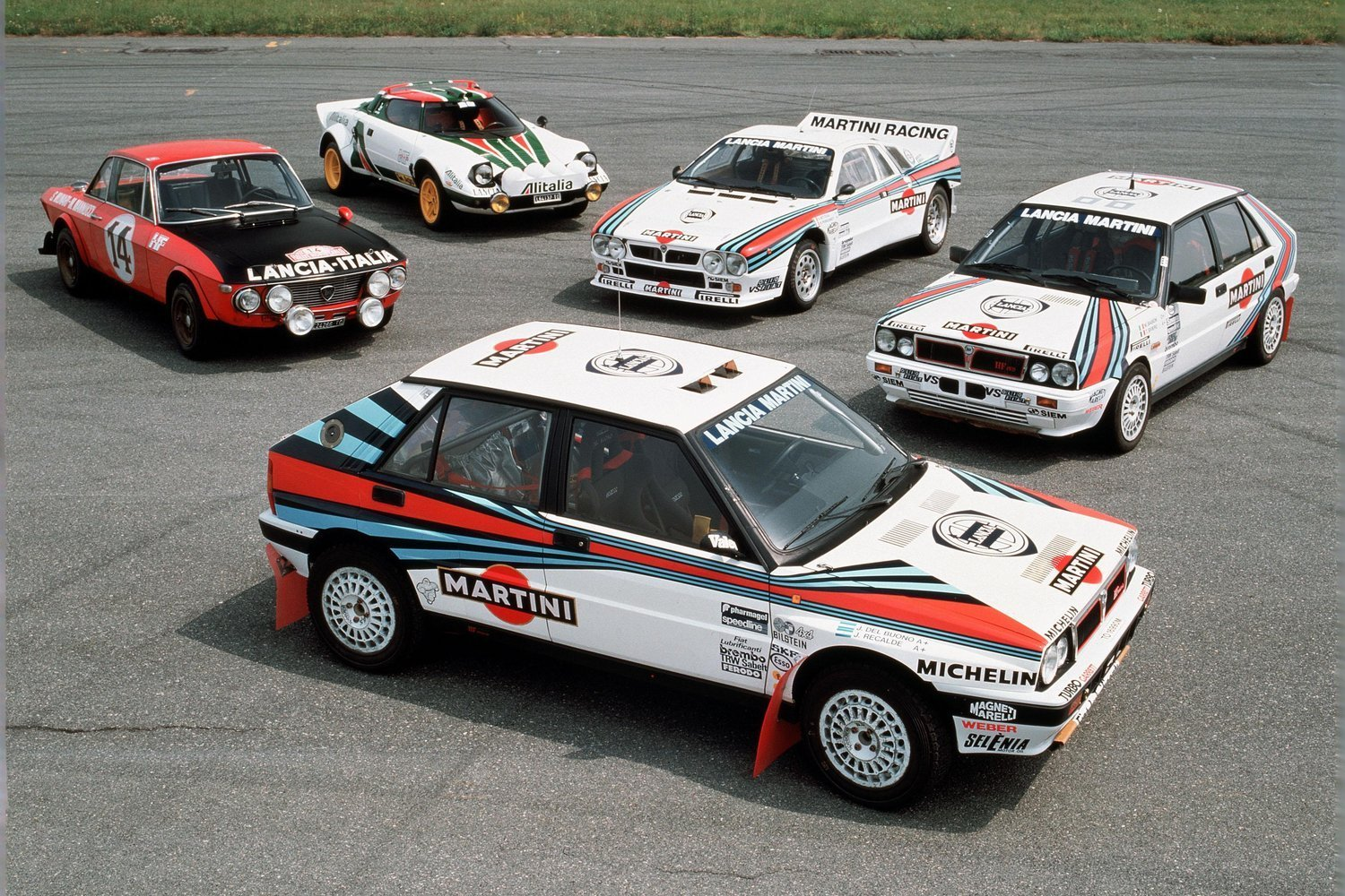 New 5 Lancia Rally Cars That Made History Red Bull On This Month