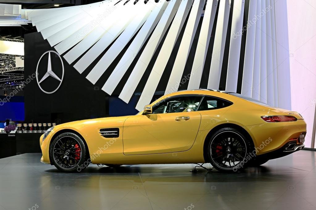 New Yellow Mercedes Benz Sport Car – Stock Editorial Photo On This Month