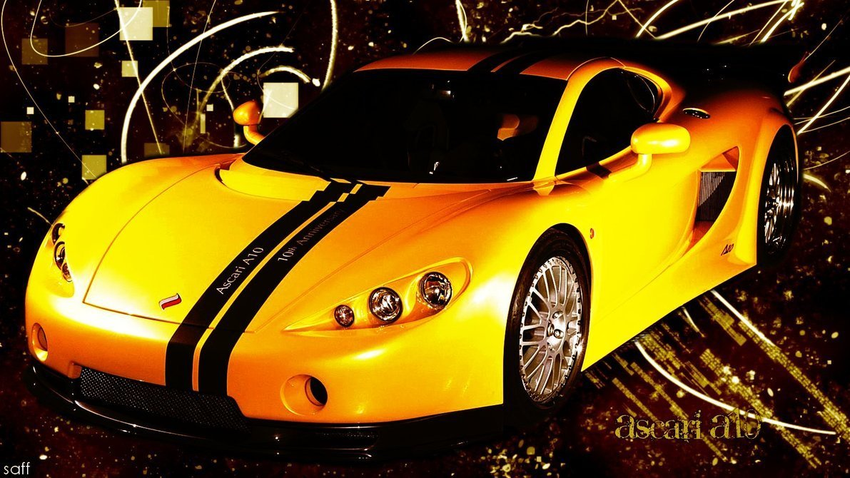 New Ascari A10 Wallpaper By Saffiremoon21 On Deviantart On This Month