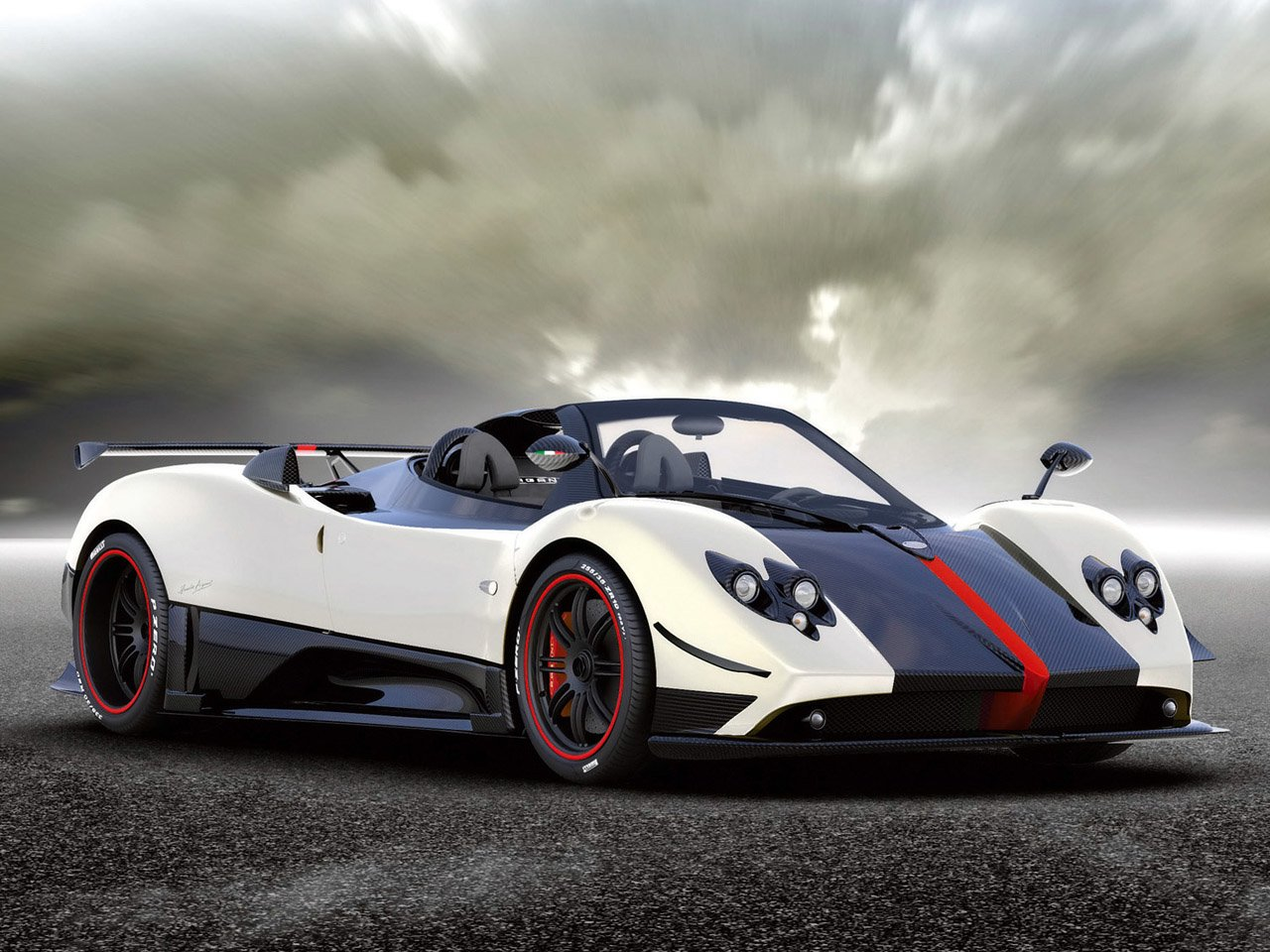 New World Of Cars Pagani Zonda Cinque Roadster On This Month