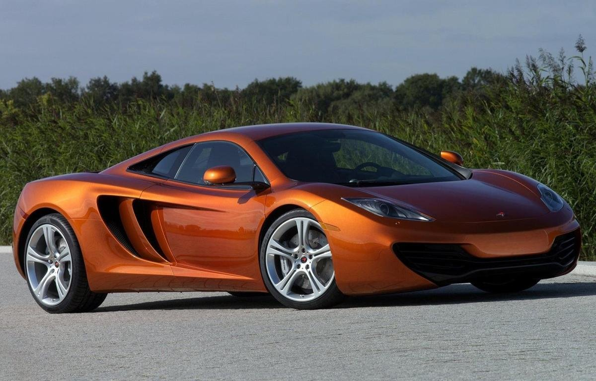 New Image House Latest Hd Wallpapers Mclaren Mp4 12C Orange Car On This Month