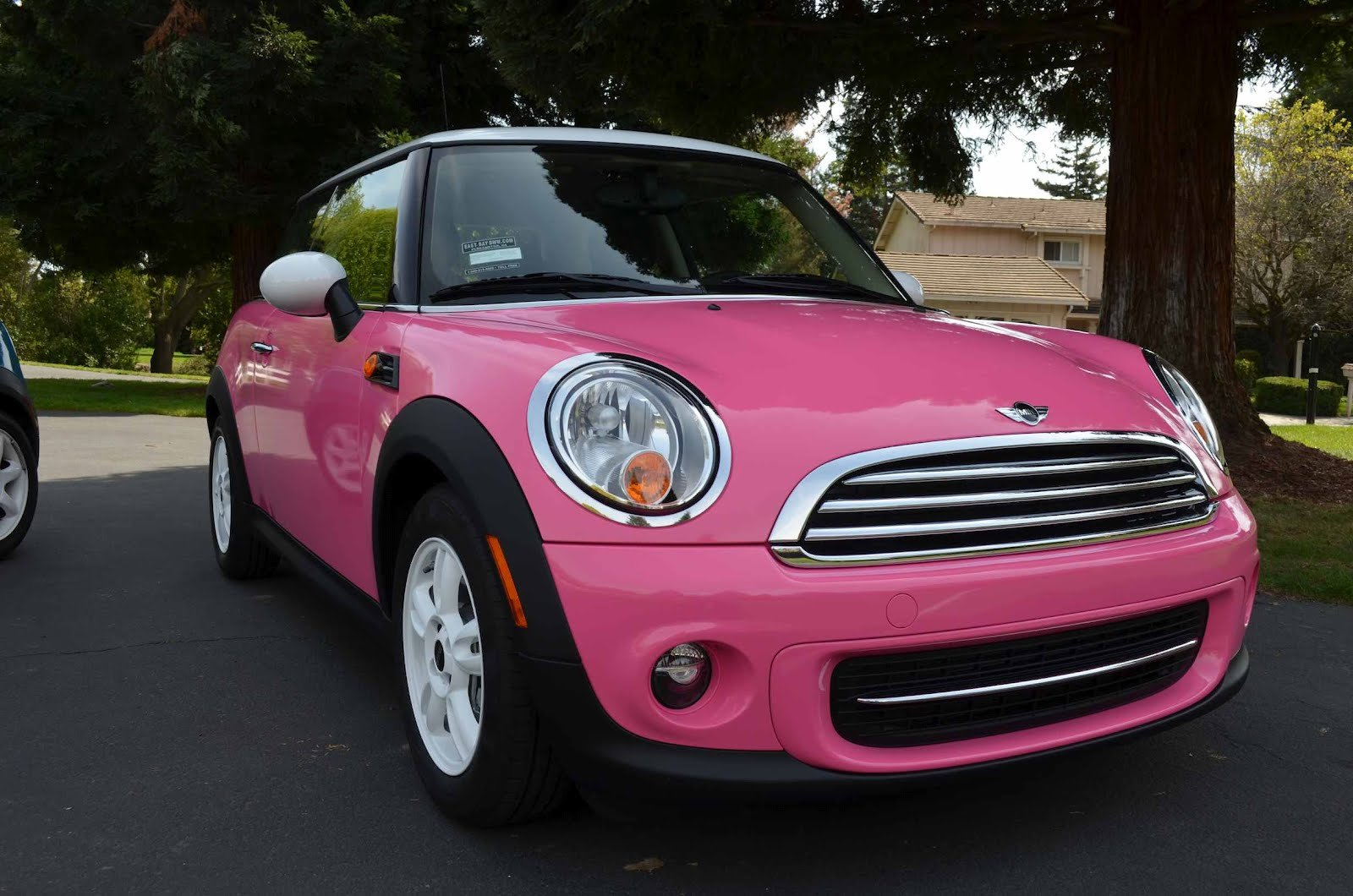 New Dave Car Guy Pink Mini Cooper Joins The Garage On This Month