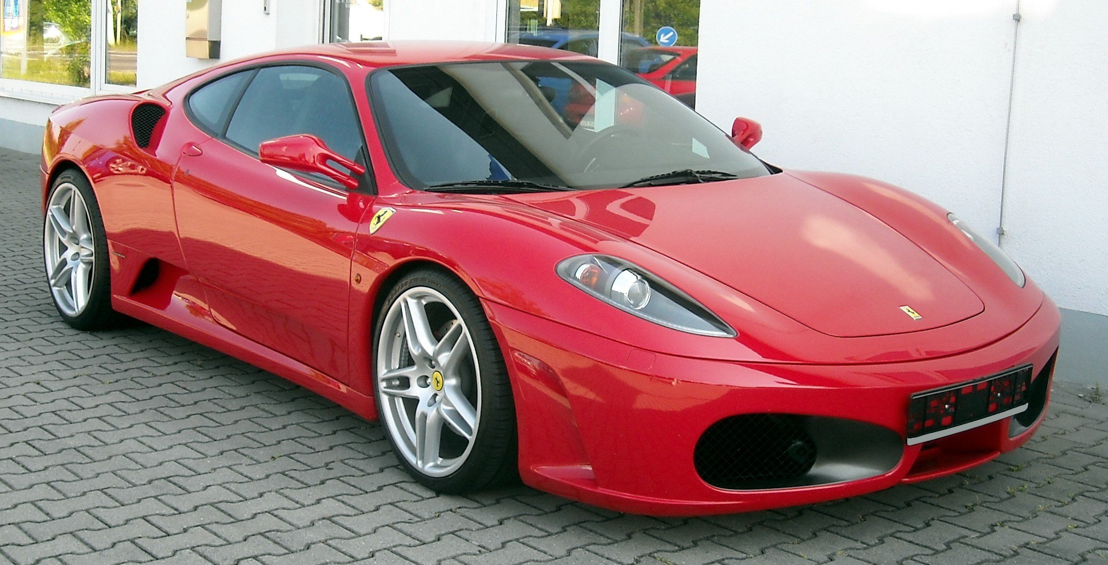 New File Ferrari F430 Front 20080605 Jpg On This Month