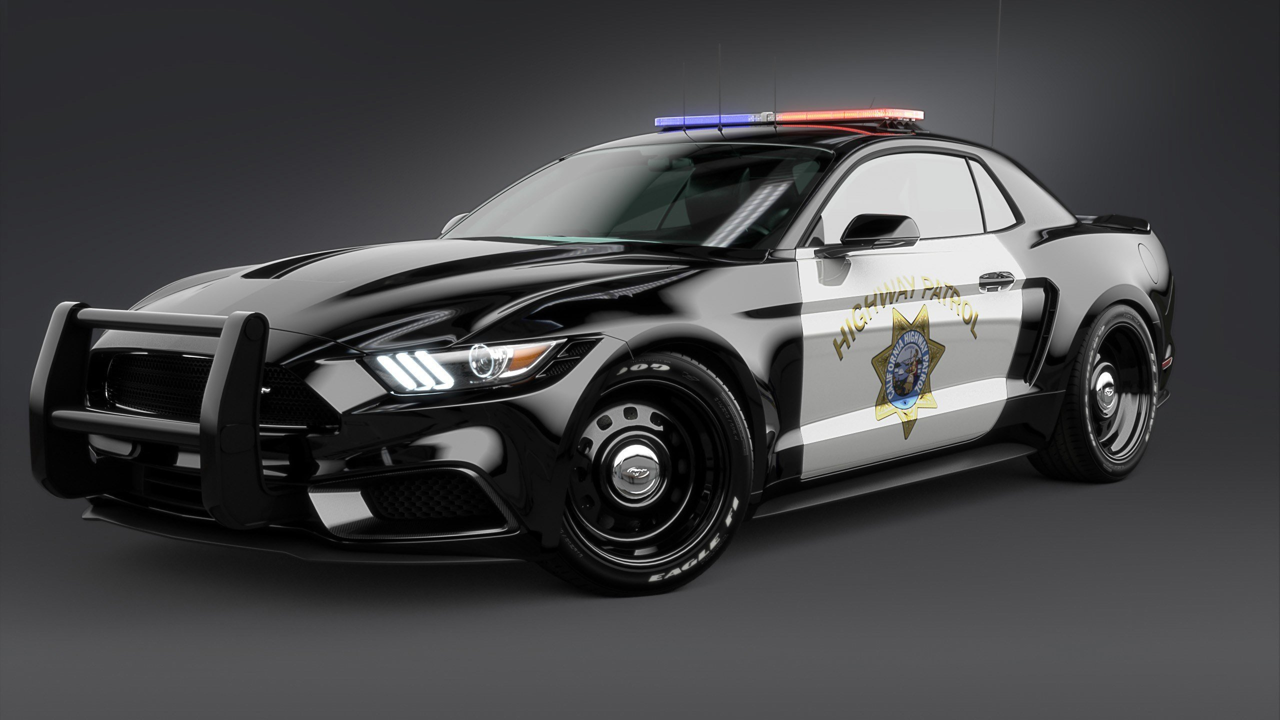 New 2017 Ford Mustang Notchback Design Police 2 Wallpaper Hd On This Month