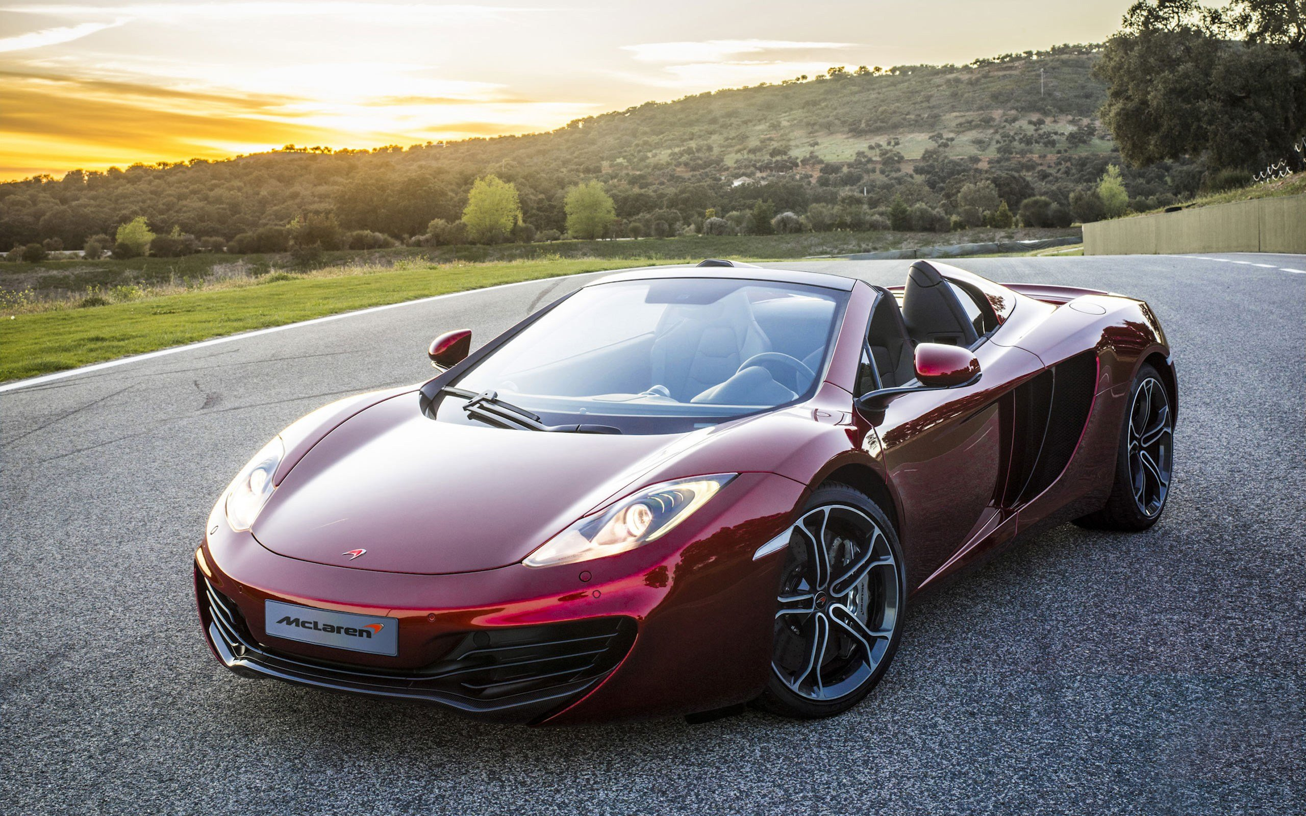 New 2012 Mclaren Mp4 12C Spider Wallpaper Hd Car Wallpapers On This Month