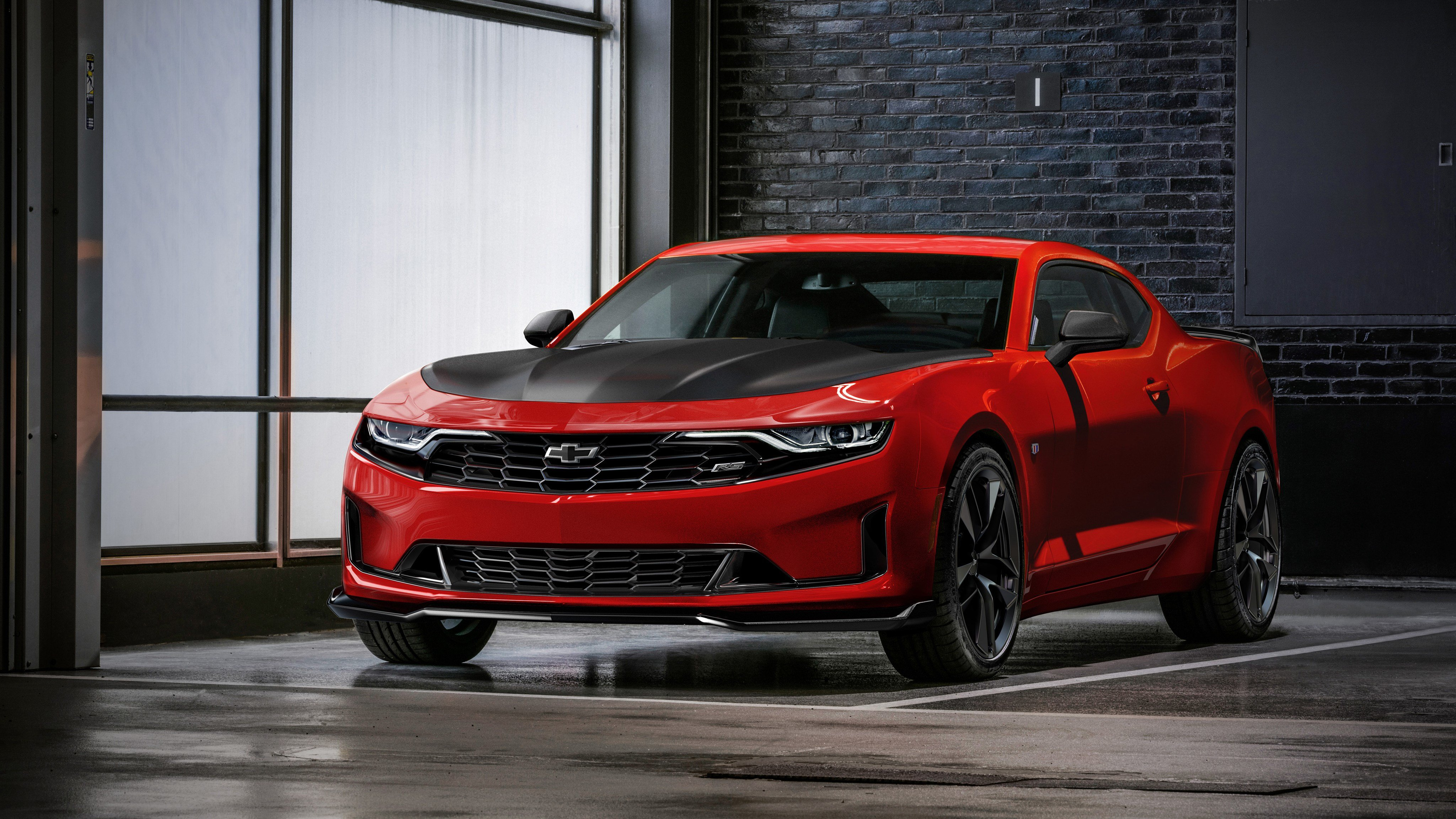 New 2019 Chevrolet Camaro Rs 1Le 4K Wallpaper Hd Car On This Month