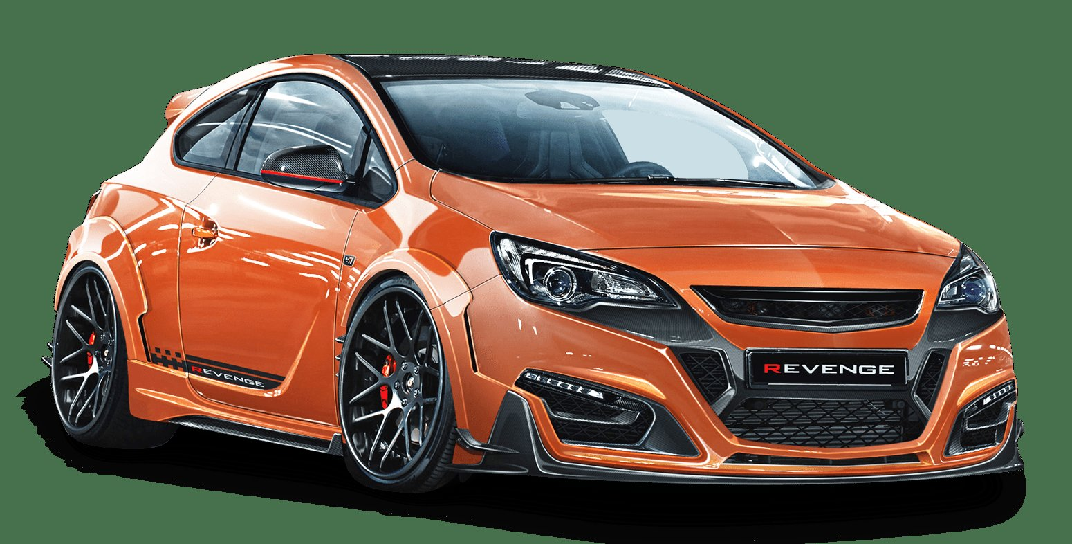 New Opel Astra Gtc Revenge Orange Car Png Image Pngpix On This Month