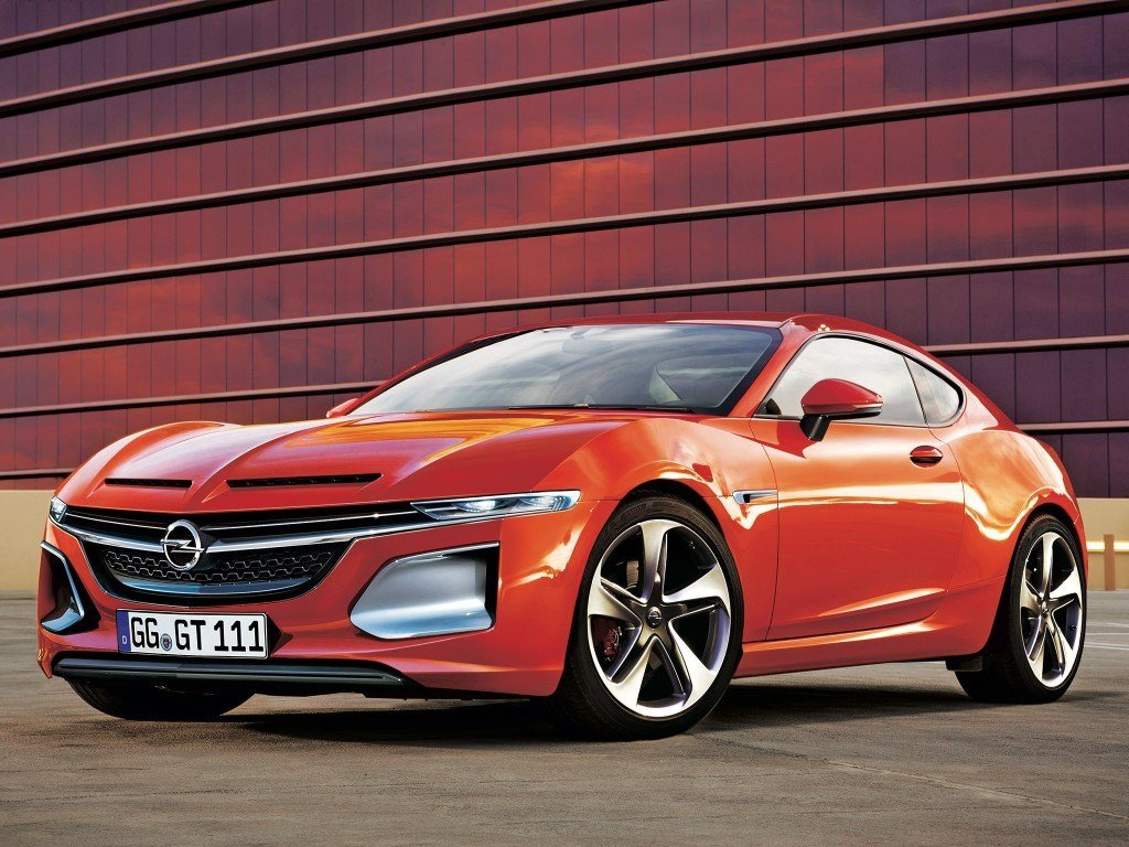 New Beautiful Super Futuristic Opel Gt Rwd Concept Cartavern On This Month