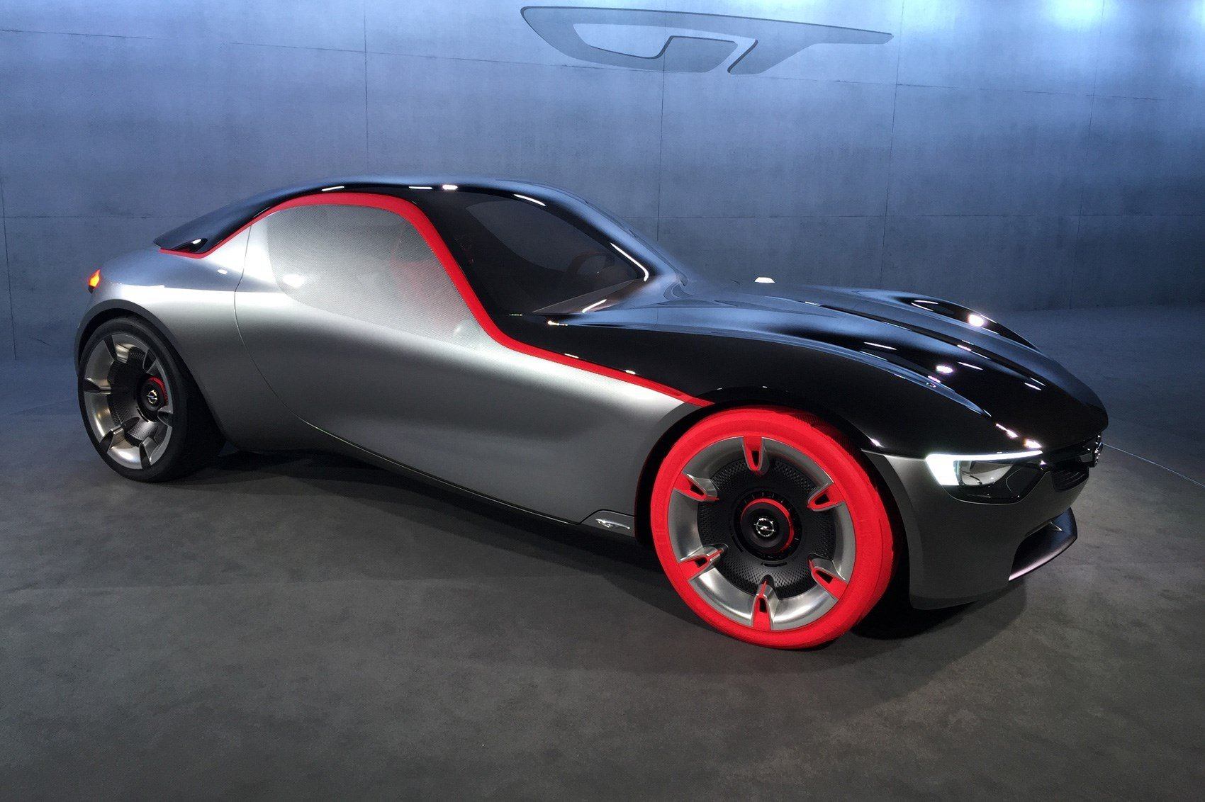 New Opel Gt Concept Revealed At Geneva 2016 Vauxhall's Sports On This Month
