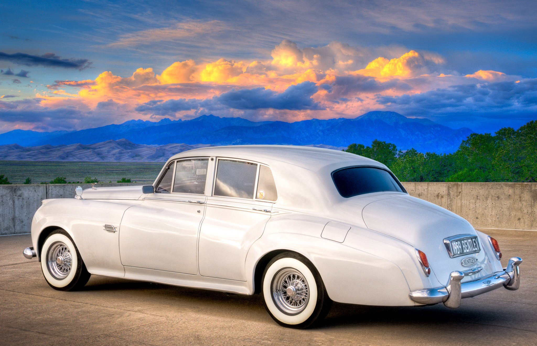New 1959 Bentley S1 Saloon Classic Car Photography By On This Month