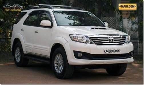 New Ford Fortuner Car On This Month