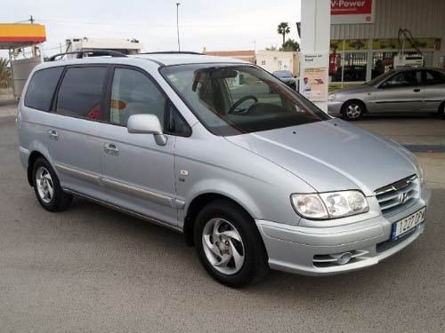 New Hyundai Trajet 7 Seater Used Car Costa Blanca Spain On This Month