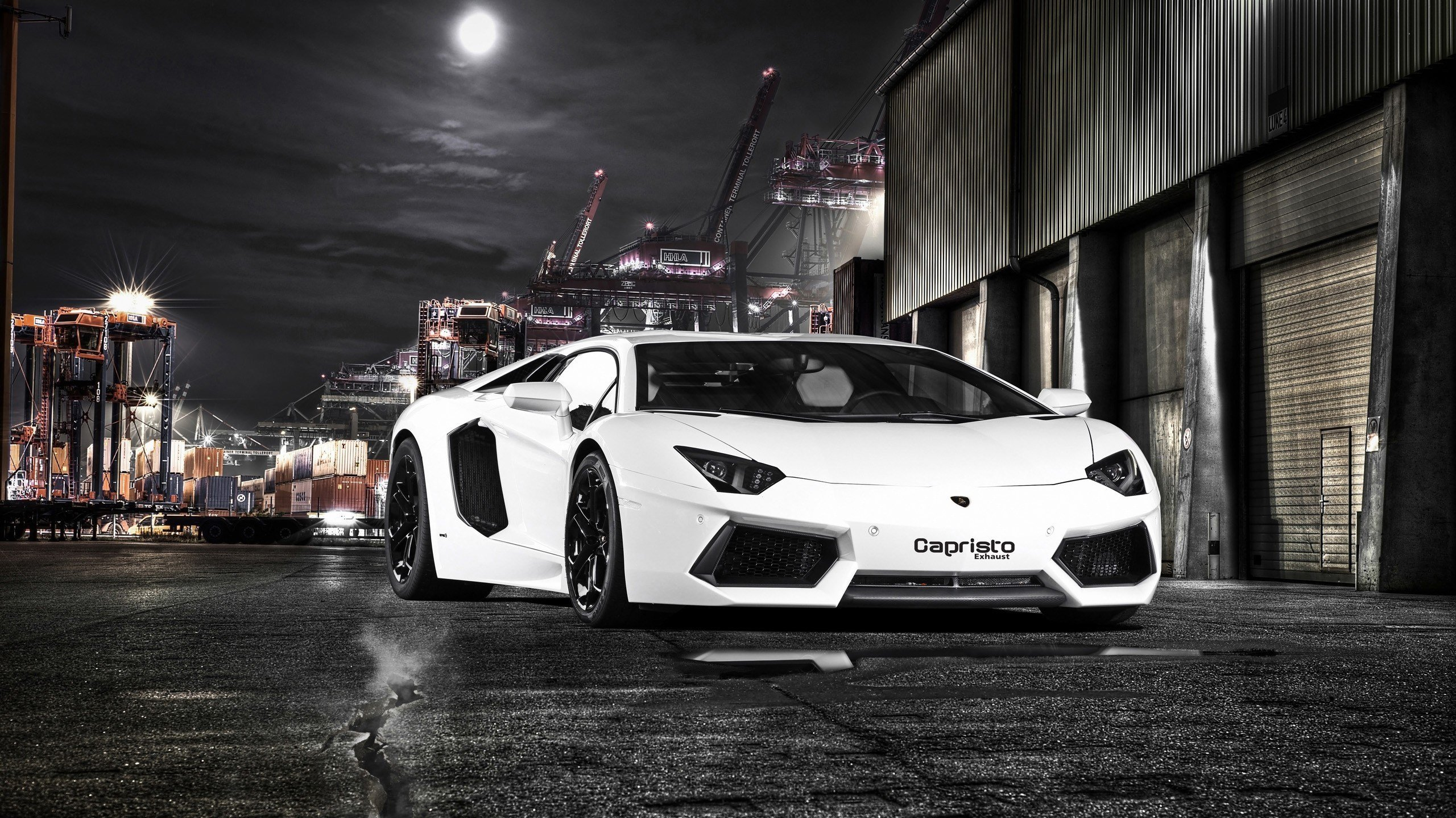 New Lamborghini Aventador By Capristo 2012 Wallpapers Hd On This Month