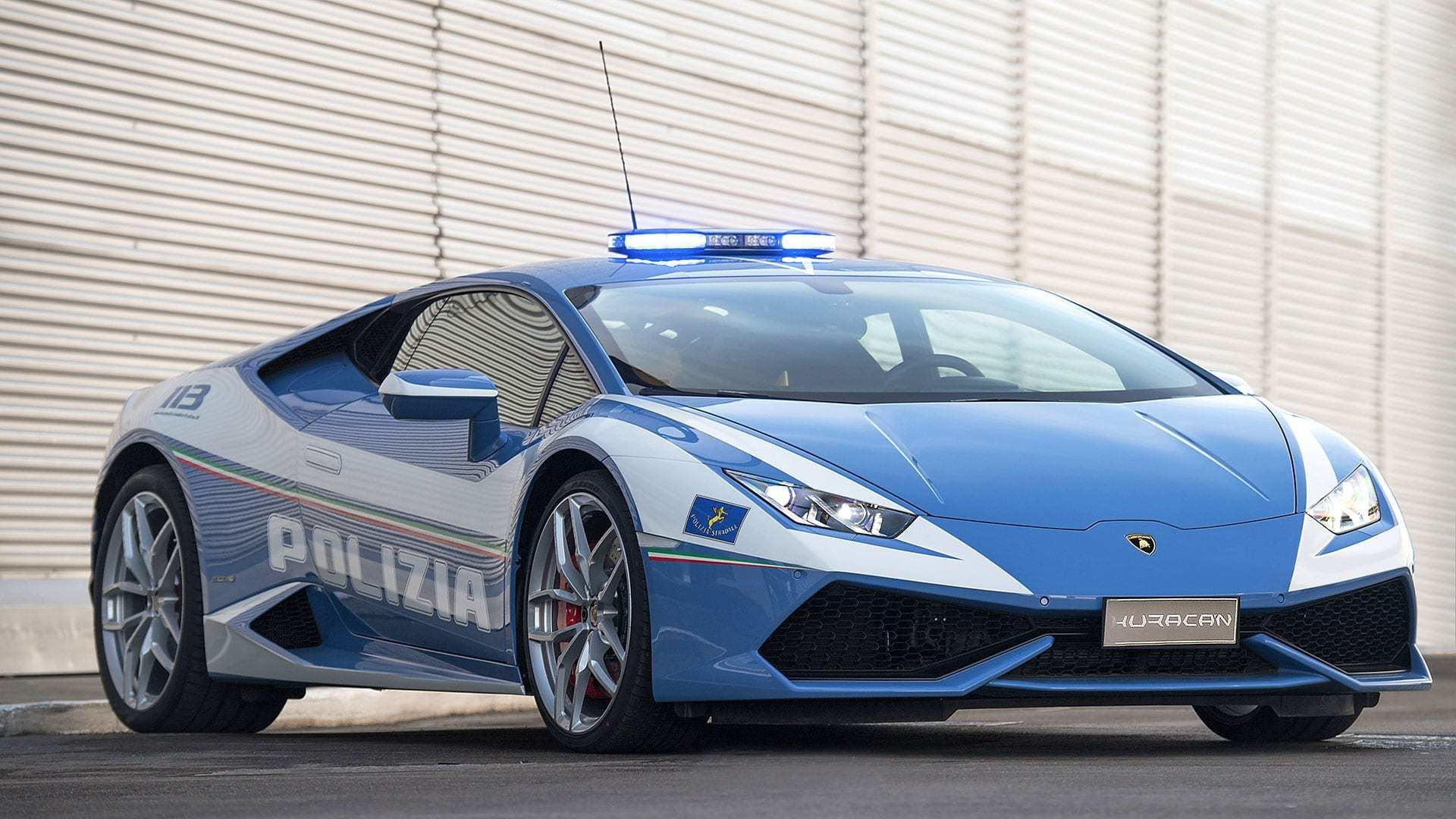 New Lamborghini Delivers A New Huracán Polizia To The Italian On This Month
