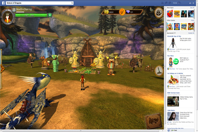 Facebook Games   Play Dragon Games Online   School of Dragons Farming in the School of Dragons Facebook Game