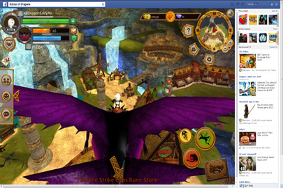 Facebook Games   Play Dragon Games Online   School of Dragons     Fly Dragons in the Exciting School of Dragons Game on Facebook
