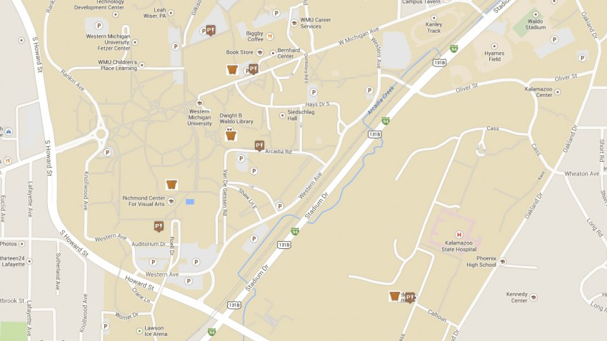 Directions and Parking   University Libraries   Western Michigan     Driving Directions