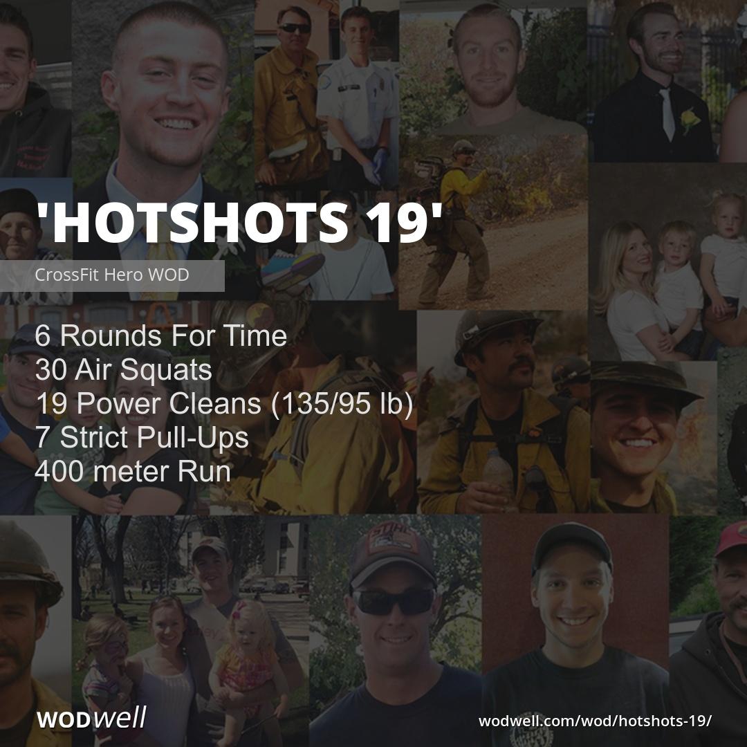 Quot Hotshots 19 Quot Wod