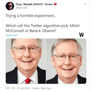 Twitter'ın algoritmasında ırkçılık