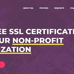 Kâr amacı gütmeyen web siteleri için ücretsiz SSL