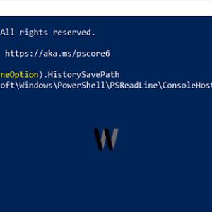 Windows PowerShell geçmişini temizlemek