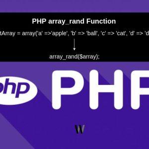 array_rand kullanımı – PHP