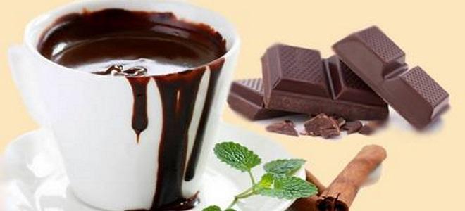 как сделать горячий шоколад из шоколадки