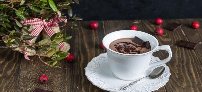 как сделать горячий шоколад в микроволновке