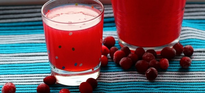 Cranberry Kissel рецепті