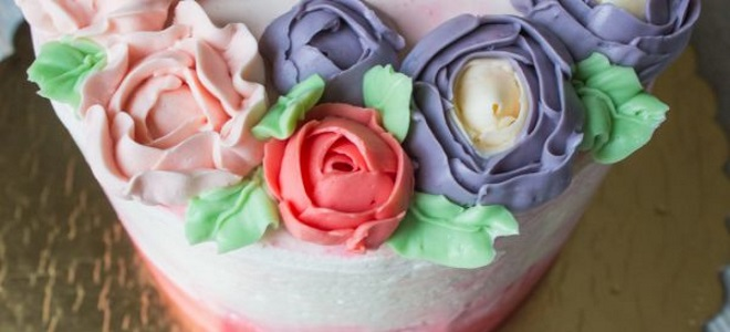 Oil Cake Decoration Cream