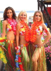Гавай партиясының костюмдері оны өзіңіз жасайды