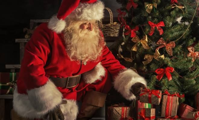 Je tam Santa Claus