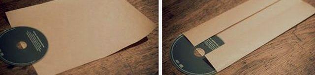 Hogyan készítsünk egy borítékot a lemezhez12
