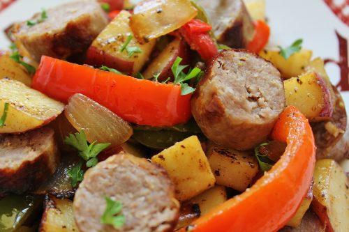 Low Salt Sausages Italian