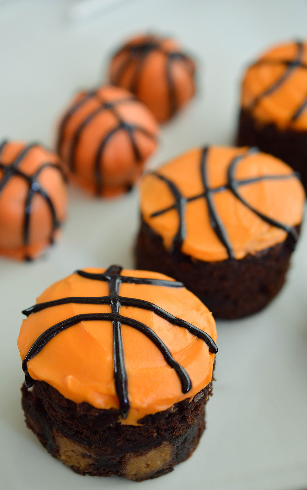 Orange Peanut Butter Black And Candy