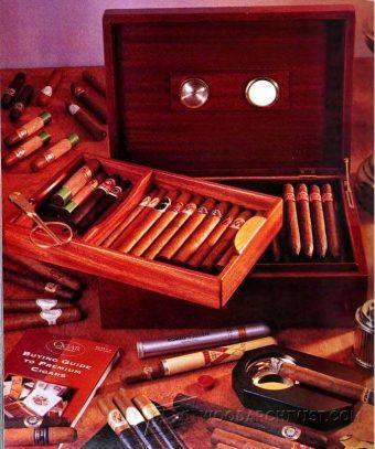 Cigar Humidor Plans Woodarchivist