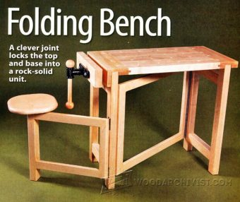Wood Carving Bench Plans Woodarchivist