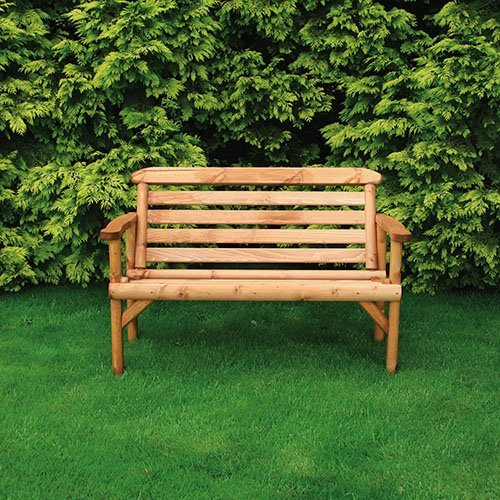 Anchor Fast 5ft Rustic Bench 3 Seater Simply Wood