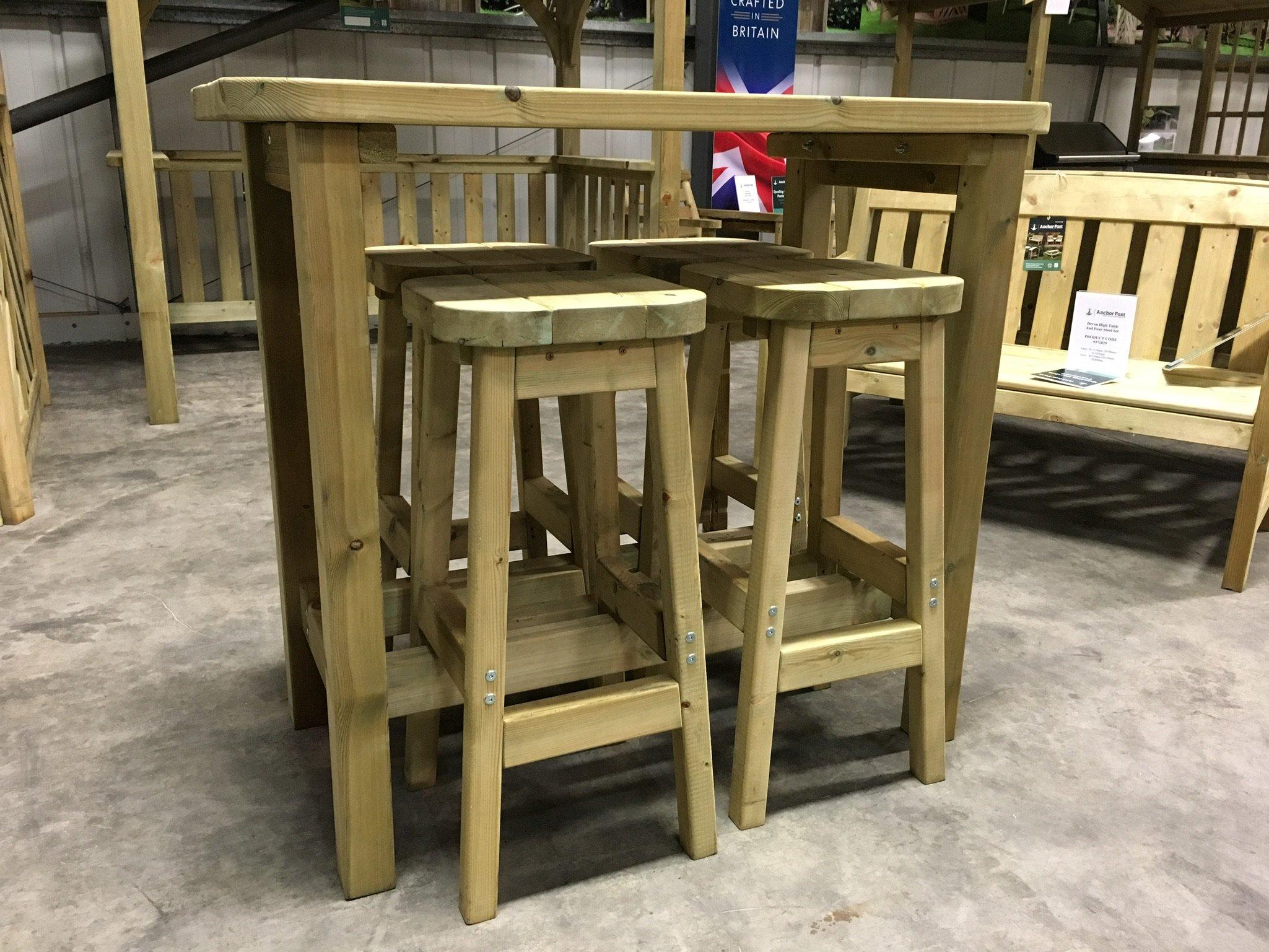 Wooden Garden Furniture Love Seats