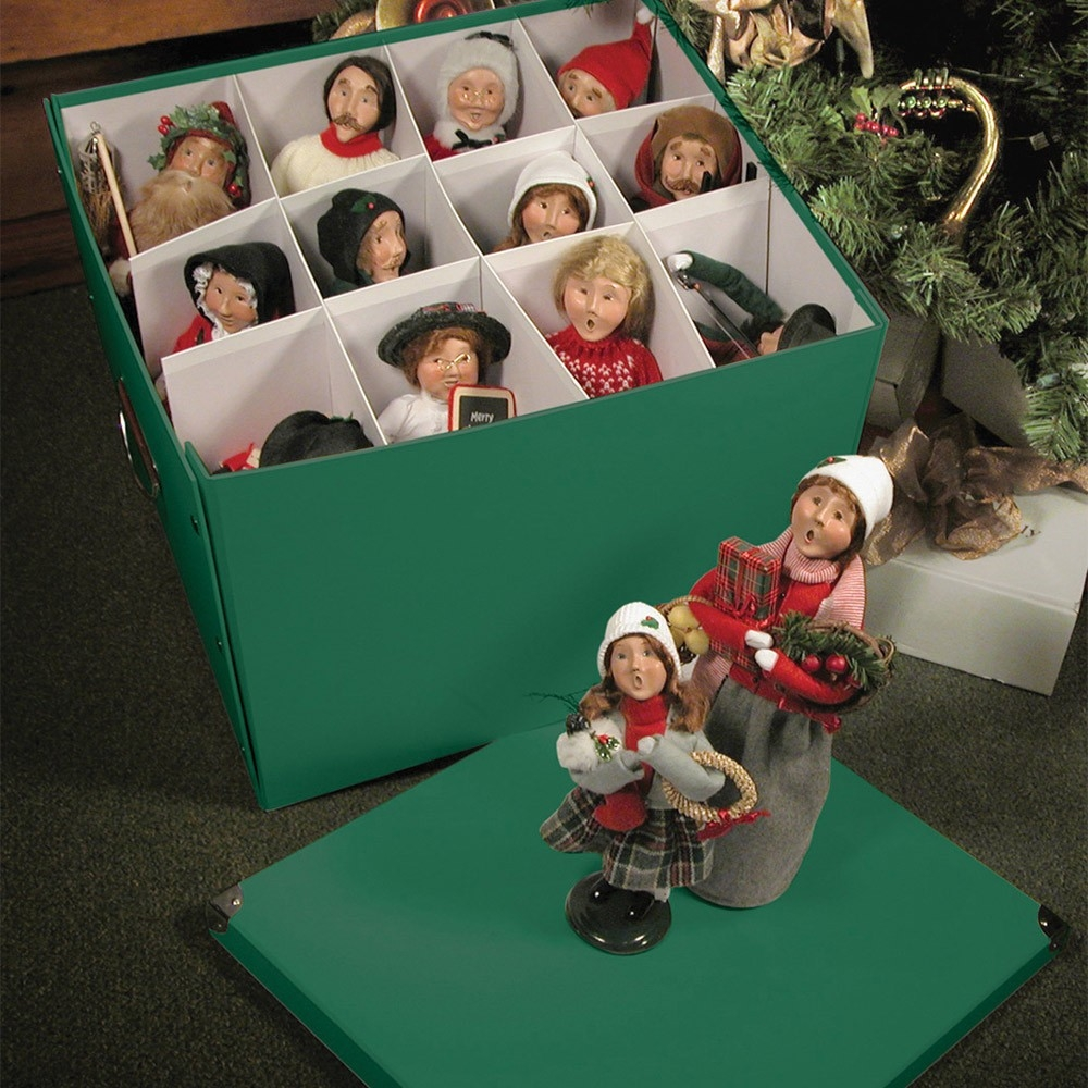 Byers Choice Caroler Accessories Wooden Duck Shoppe | Byers Choice Spiral Staircase | Christmas Carolers | Byers Carolers | Choice Carolers | Inches Tall | Rolling Scaffold