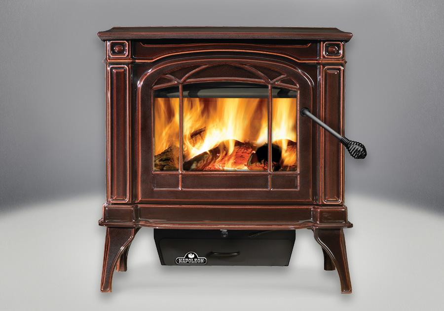 Napoleon Banff 1100c Cast Iron Wood Burning Stove 1100c